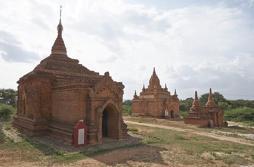 【写真】世界一周 : ナンパヤー寺院~セィンニェ・アマ寺院