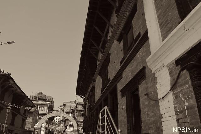Guhyeshwari Mai Mandir near by Shri Pashupatinath Mandir