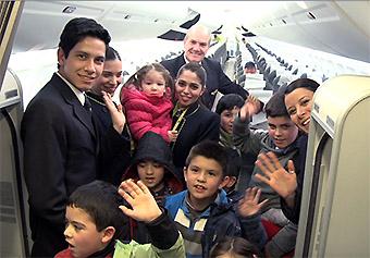 Sky Airline celebración Día del Niño 2015