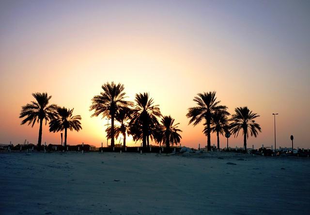 Sunset, Al Mamzar, Dubai / Закат, Аль Мамзар, Дубаи