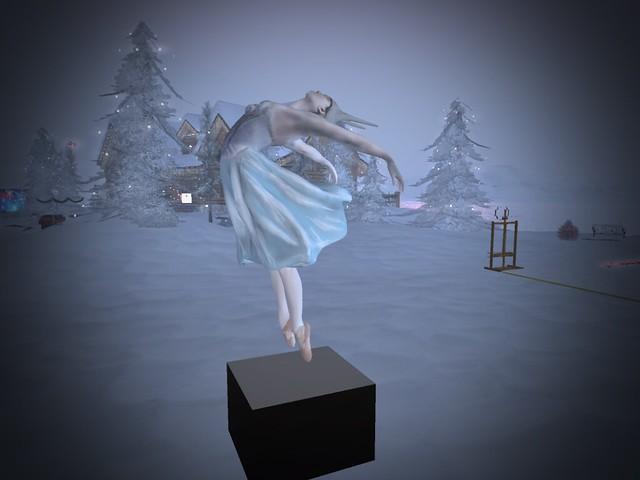 Winter Showcase & Winter Art - Winter's Dancer In the Snow