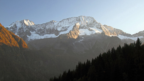 italy trentino alps rhaetianalps adamellopresanellaalps mountains sunset