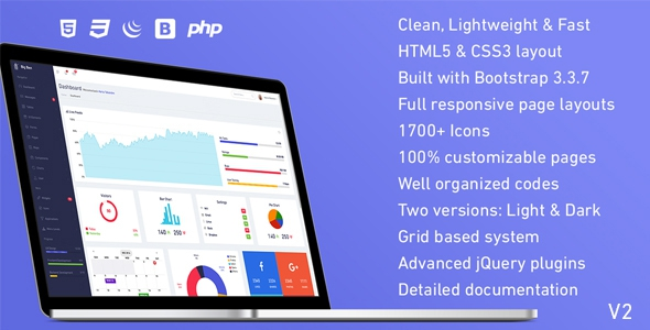 Big Ben v1.0 – Responsive Admin Dashboard Template