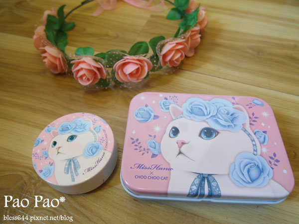 Miss Hana花娜小姐 X CHOO CHOO CAT 經典眼膠筆鐵盒