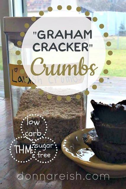 Sugar-Free, Low-Carb, Graham Cracker Crumbs