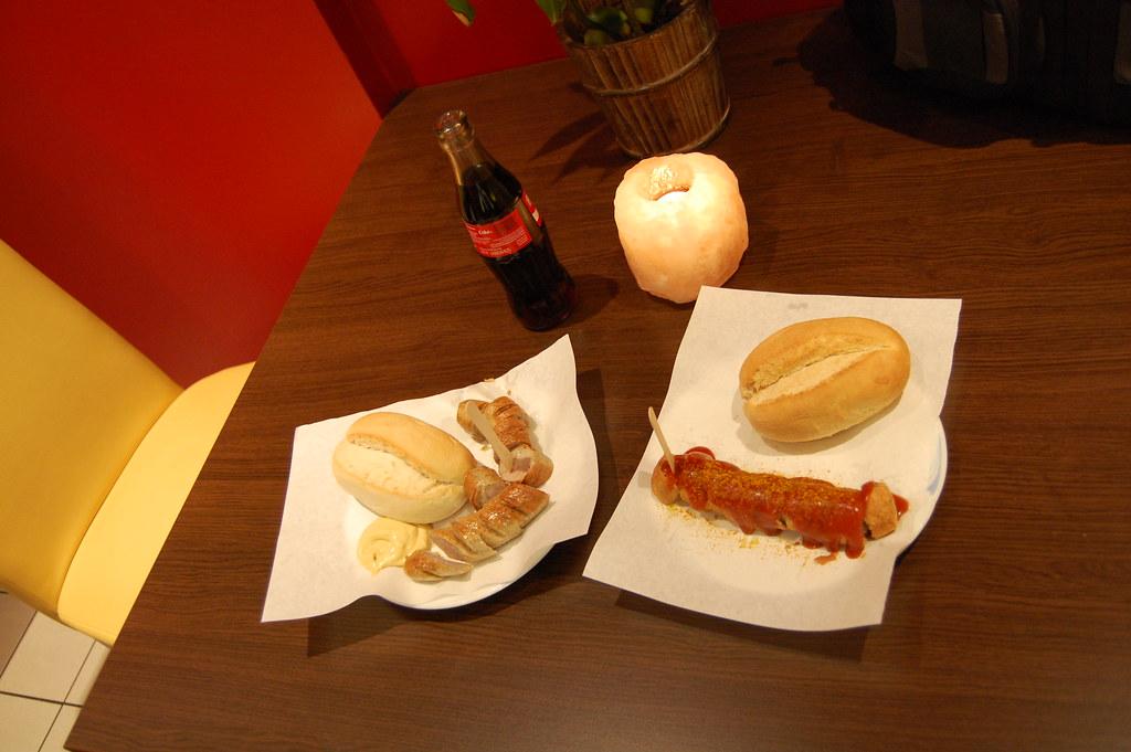 Bratwurst y Currywurst