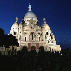 It's me again, watching people and the city. #Montmartre #Paris #Travel #traveldiaries