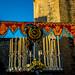 Montaje del Altar del Corpus Christi 2015