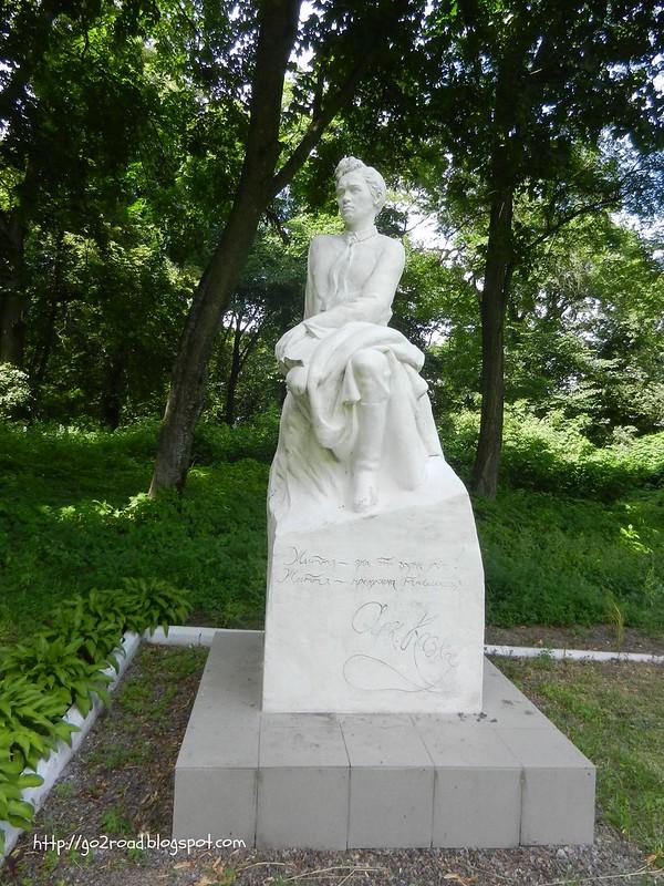 Андрей Казка, памятник в Седневе