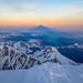 Mont Blanc Summit Shadow by Stewart Miller Photography