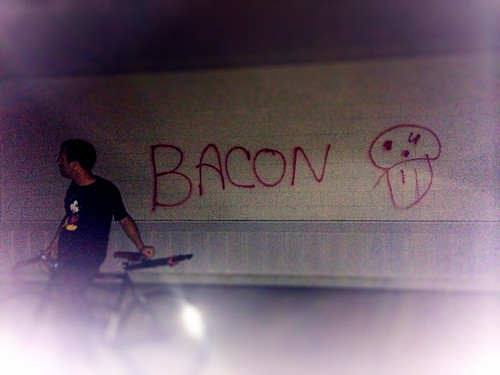Bacon Head Graffiti (July 16 2014)