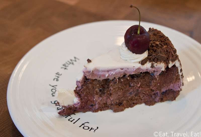 Cafe Gratitude- Los Angeles (Arts District), CA: Remarkable- Black Forest Cherry Cake
