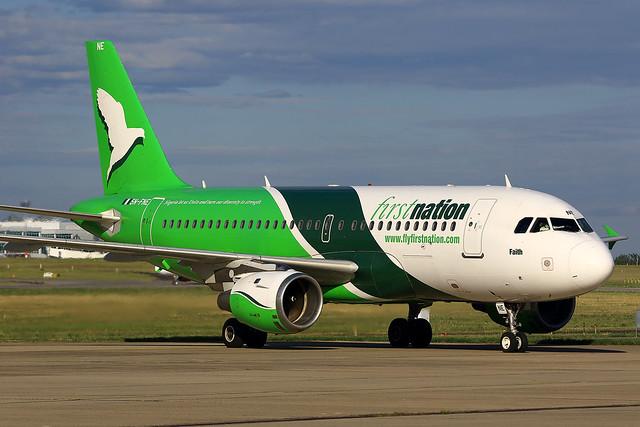 Nigériai Airbus Ferihegyen - 2015.07.29., szerda
