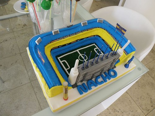 Decoración de Tortas del Boca Juniors