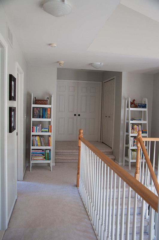 Hallway Bookshelves for Children's Books