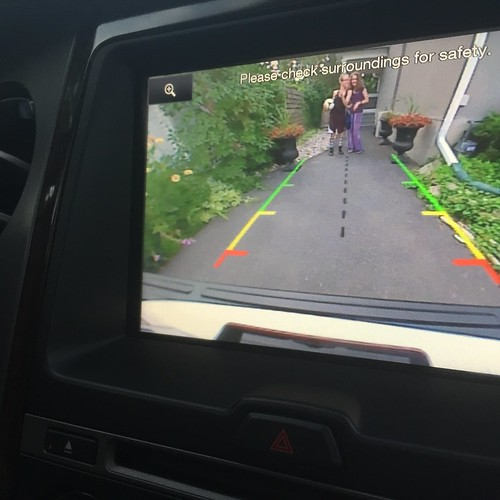Ford Expedition back up cam view
