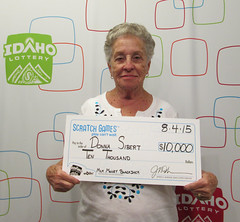 Donna Sibert - $10,000 Milk Money Blackjack