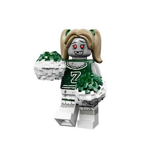 LEGO 71010 Collectible Minifigures Series 14 08 - Zombie Cheerleader