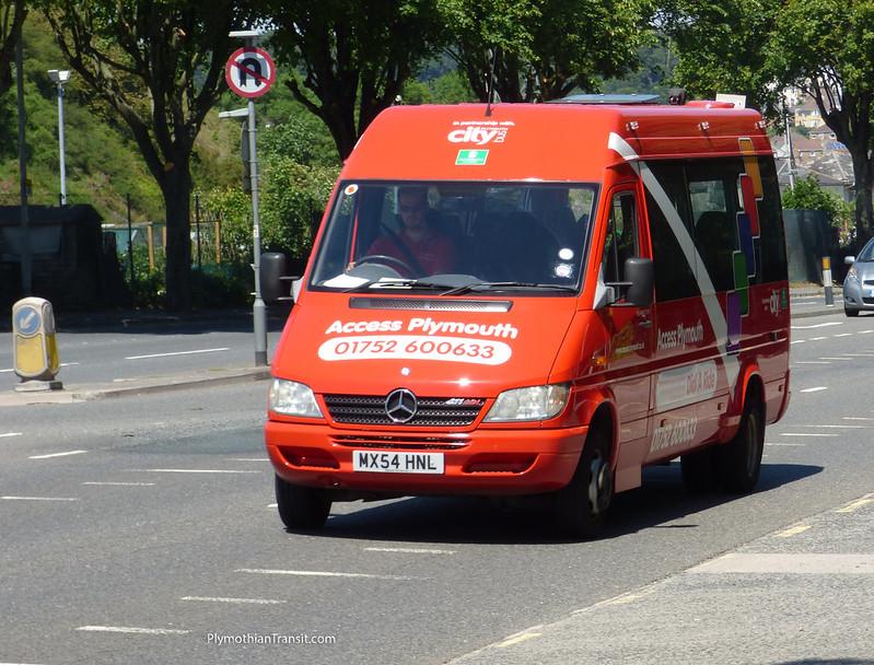 Plymouth Citybus MX54HNL