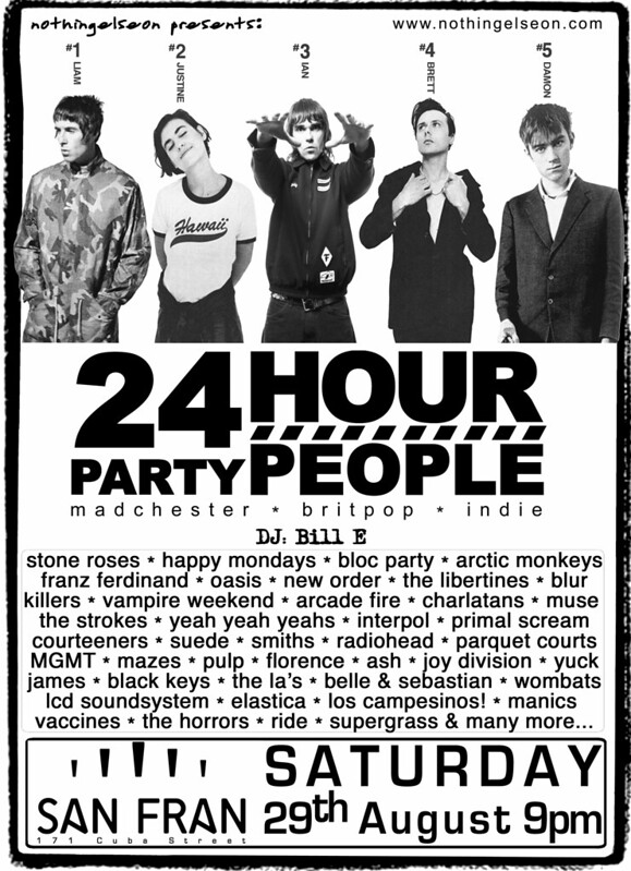 24 Hour Party People, 29 August 2015