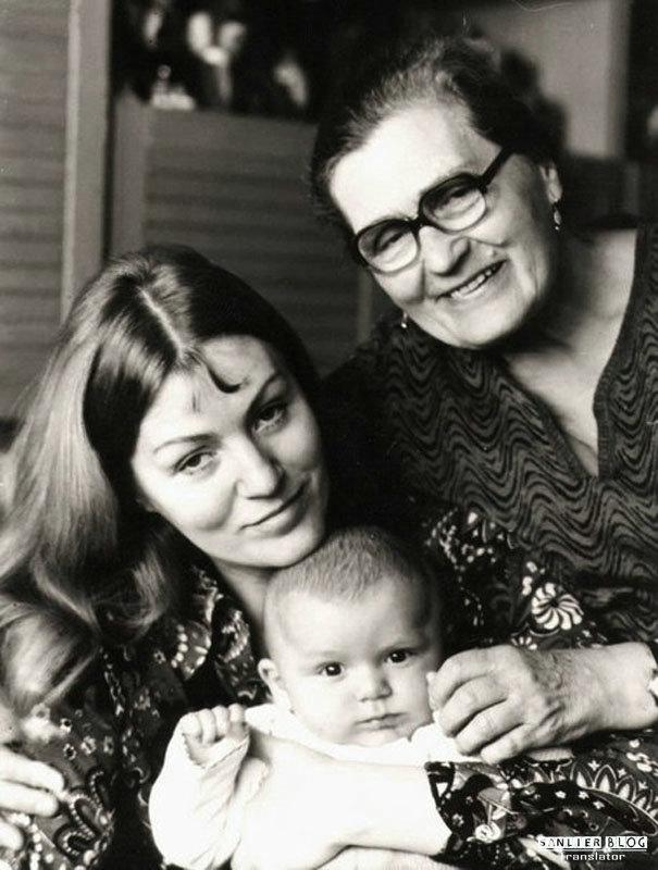 苏联名人家庭照片20