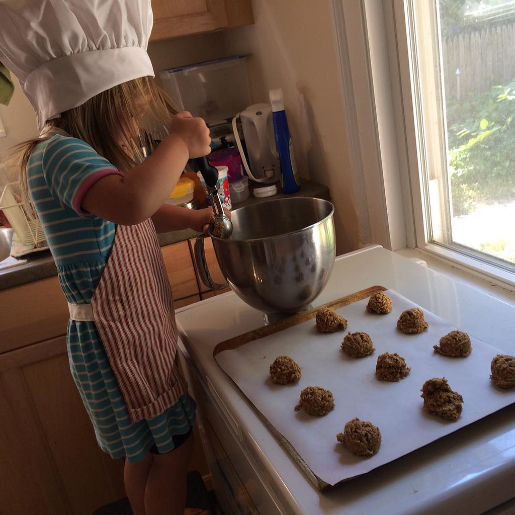 We're making oatmeal date cookies!