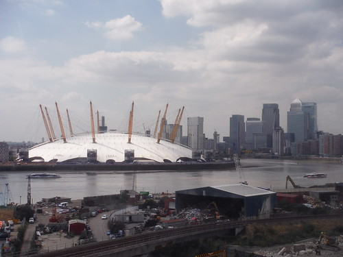 O2-Dome from the cable car