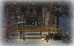 Ski Cabin 2016-Porch Front
