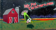 Don't you hate it when your pet cow is beamed by aliens?
