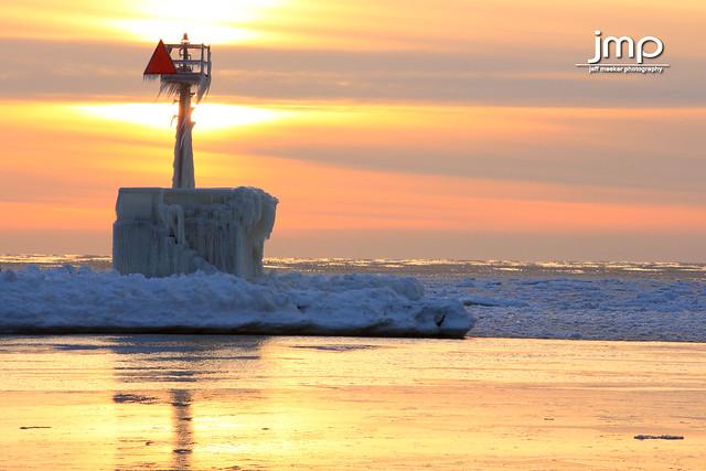 St Joseph Lighthouse South Pier Marker