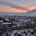 grenoble sunset by Damien BRIGNON