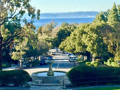 View from the Malaga Cove Library Park