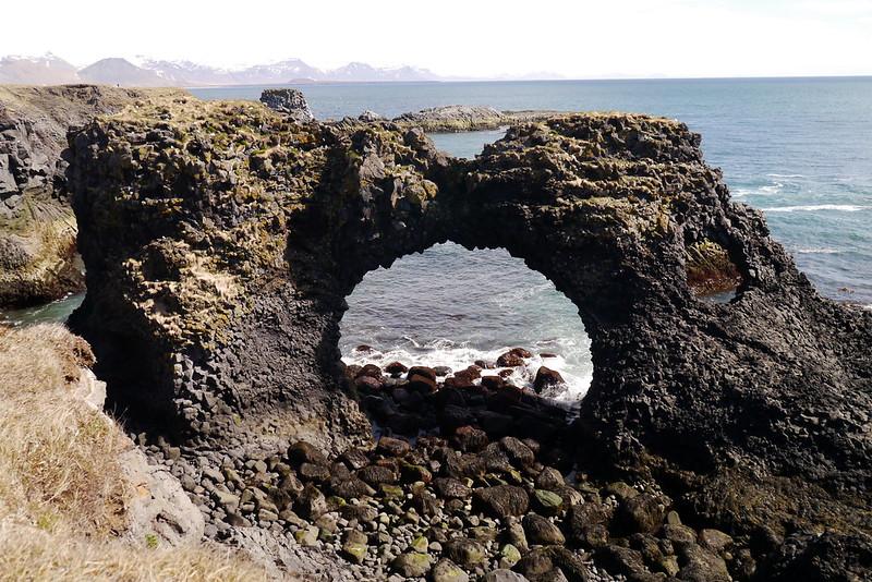 Arnarstapi viking landing spot
