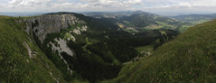 Panoramic view from the Mont d'Or
