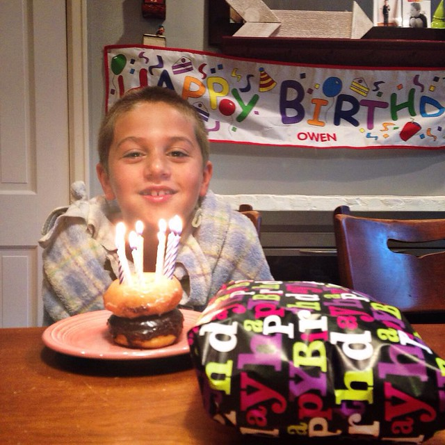 Happy 9th Birthday Owen!!! #owenchristoper