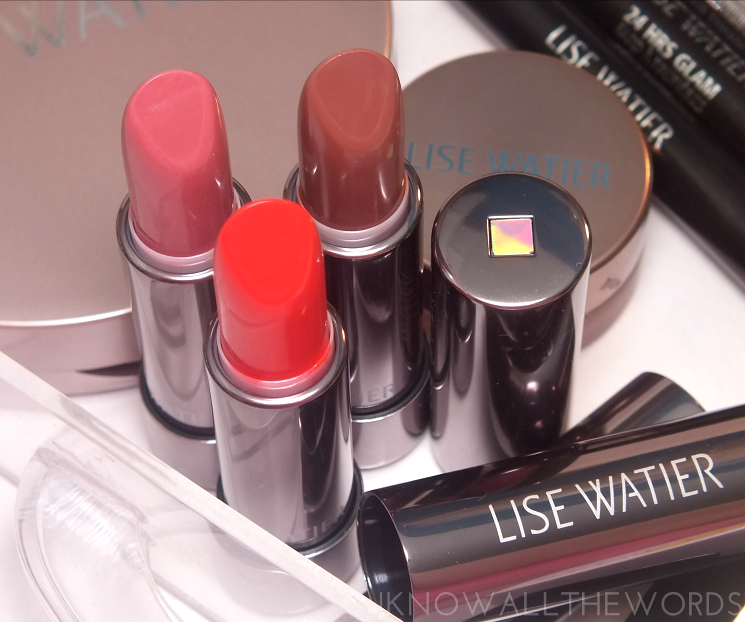 Lise Watier Rivages Collection Summer 2015 Rouge Subllime in Amour, Eclectique, and Ginger (1)