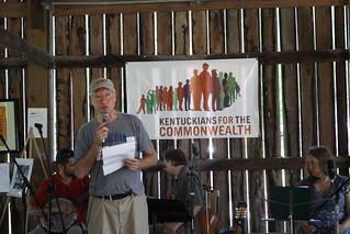 Jim Porter at Barn Bash