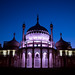 Brighton Royal Pavilion at Dusk by lomokev
