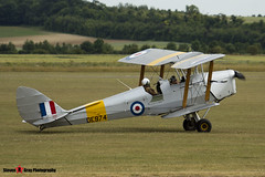 G-ANZZ DE974 - 85834 - Private - De Havilland DH-82A Tiger Moth II - Duxford, Cambridgeshire - 150703 - Steven Gray Stevipedia - IMG_5635