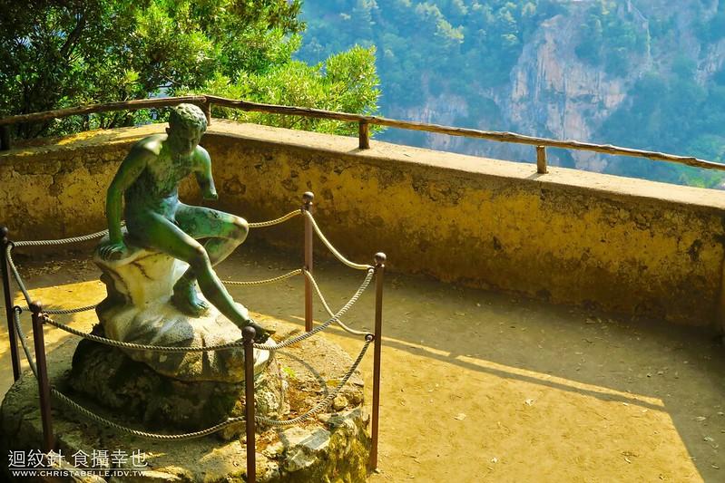 Mercury's Seat, Villa Cimbrone, Ravello, Amalfi Coast, Italy