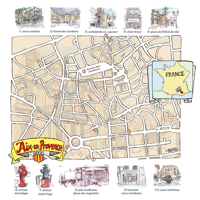 map of where i sketched in Aix