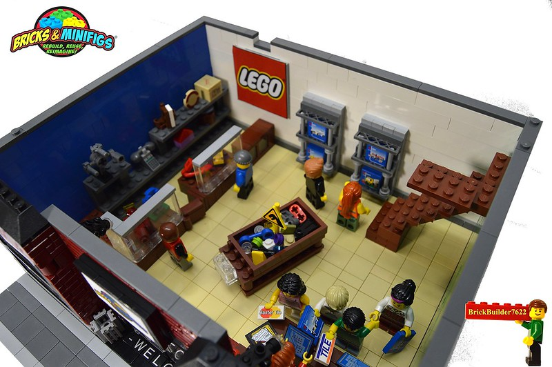 Bricks and Minifigs Modular: A LEGO® creation by John Klapheke ...