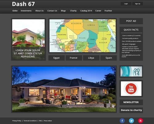 Infograins-Dash67-website-design