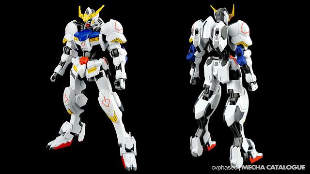 HG Gundam Barbatos - Colored Prototype Shots