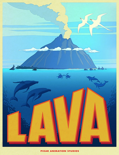 Cartel: Lava. Pixar