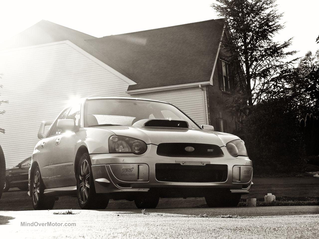 Subaru STI Glow