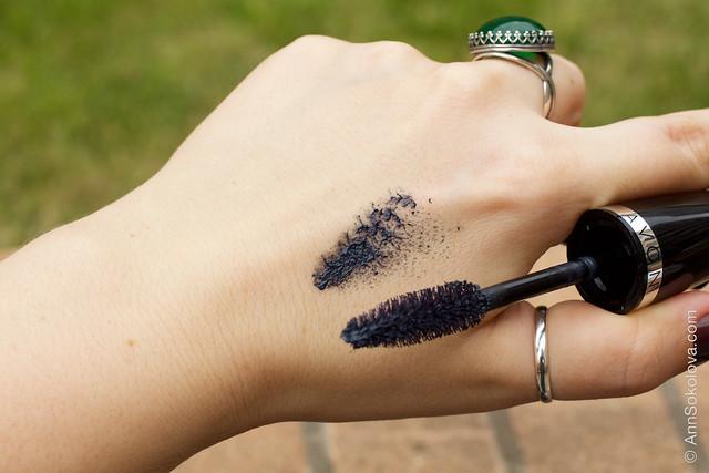 03 Avon Big&False Lash Volume Mascara black Объем. Эффект накладных ресниц свотчи