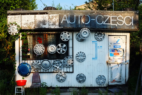 Auto Parts Shop - Polish Style