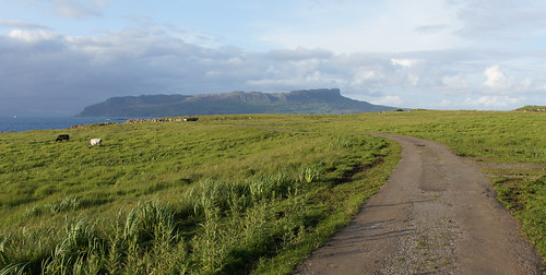 Eigg, from Muck