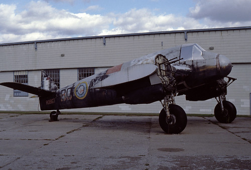 Bristol Beaufighter TF.X at the National Aeronautical Collection, Ottawa Oct. 1984
